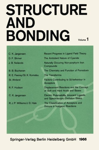 Structure and Bonding by C. K. J????rgensen (1966-01-01)