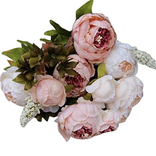 smartlady-flores-artificiales-exterior-1-ramo-8-cabezas-de-flores-de-seda-rosa
