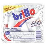 Brillo - Topfkratzer mit Seife - 10 Stück