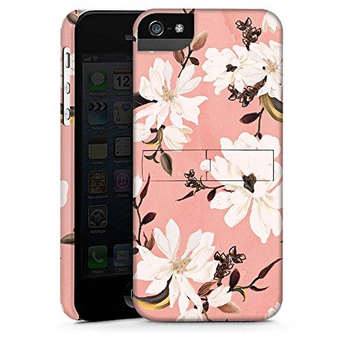 Apple iPhone X Silikon Hülle Case Schutzhülle Frühling Weiße Blumen Rosen Premium Case StandUp