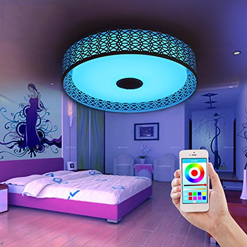 led kreisf rmige form nest bird s musik decke gl hbirne. Black Bedroom Furniture Sets. Home Design Ideas