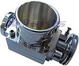 Drosselklappe ø 70mm Kompressor Turbo Umbau Aluminium + Aufnahme für Poti Neu