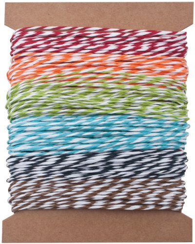 tim-holtz-idea-ology-rayures-fil-papier-multicolore