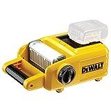 DeWalt Akku-LED-Baustellenstrahler/ Baustellenlicht (18 Volt, 10 LEDs, 1.500 Lumen, sehr hohe Leuchtdauer, neun Positionen drehbarer Lampenkopf, Lieferung ohne Akku und Ladegerät) DCL060