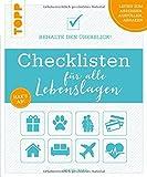 Checklisten für alle Lebenslagen: Behalte den Überblick! Alle Checklisten zum Heraustrennen und als Download - Sabine Haag