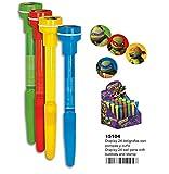 Montichelvo Montichelvo Drum 24 Pen 3 in 1 Trt Trousses, 30 cm, Multicolore (Multicolour)