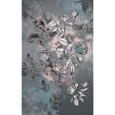 Carnet de Mots de Passe: A5 - 98 Pages - 009 - dessin roses sombres
