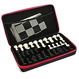 Scacchi Set di scacchi in silicone con pezzi degli scacchi e astuccio per giochi da tavolo