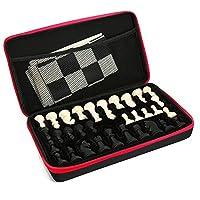 Schach-Silikon-Schachspiel-Schachset-mit-Schachfiguren-Brettmatte-Portable-Outdoor-Paket-Fall-fr-Kinder-Erwachsene