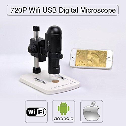 Express Panda 720P HD Wifi Digital-Mikroskop für iOS / Android / PC, Messung am PC, einstellbarer...