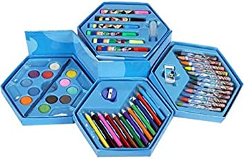 Kieana Colors Box (Pencil/ Crayons/Water Color/Sketch Pen) Online Birthday / Return Gifts