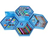 #7: ToyToon Kids Art Set ,Colors Box Color Pencil ,Crayons , Water Color, Sketch Pens Set of 46 Pieces for Boys and Kids Best Birthday Gift & Rakhi Gift (Colour Box for Boys)