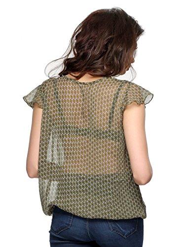 Clovia - Haut de pyjama - Femme Vert - Vert