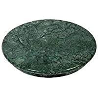 rs handicraft and marbles 11- Inch Marble Roti Maker Rolling Board