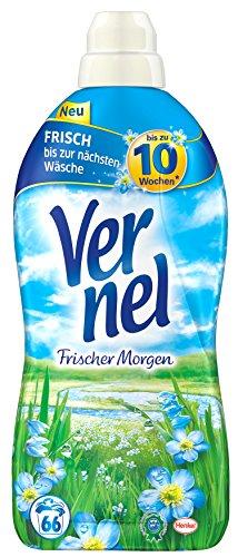 Vernel Frischer Morgen, 6er Pack (6 x 2 l) - Morgen Wäsche Duft