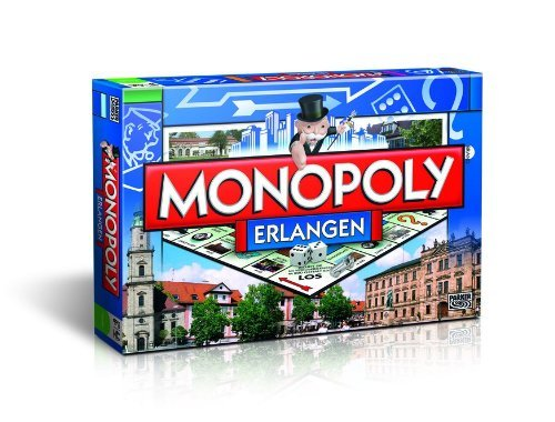 Winning-Moves 41207 - Monopoly Erlangen