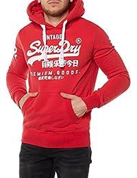 Superdry Sweater Men PREMIUM GOODS Indiana Red
