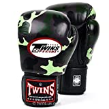 Twins special Jungle Camo Boxing Gloves Training Sparring FBGV-JG
