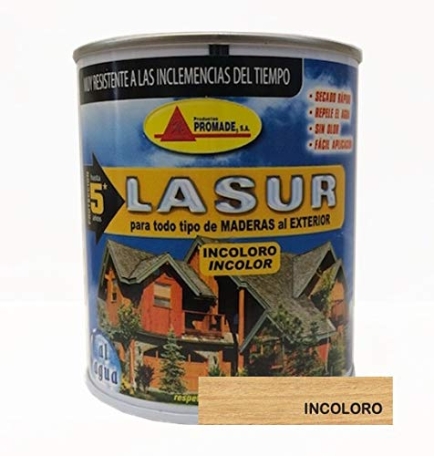 Productos Promade Asur304 - Protector mad ext 750 ml inc. lasur agua promade