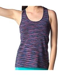 LAPASA Camiseta Deportiva para Mujer sin Mangas (Tank Top, Camiseta de Tirantes).