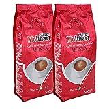 Caffè Molinari Espresso 'Qualità Rossa', ganze Bohne, 2er Pack (2 x 500 g)