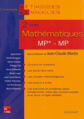 Mathématiques 2e année MP*, MP : Licences scientifiques