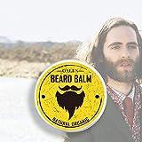 Aisence Beard Balm, 30g Organic Beard Balm Beard Wax Conditioner Butter for Beard
