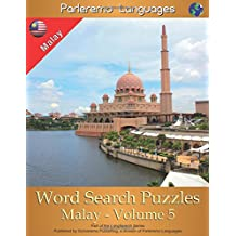 Parleremo Languages Word Search Puzzles Malay - Volume 5