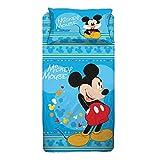Personaggi Completo Letto Una Piazza Singolo Cotone sopra sotto federe Mickey Mouse Originale! - Singolo