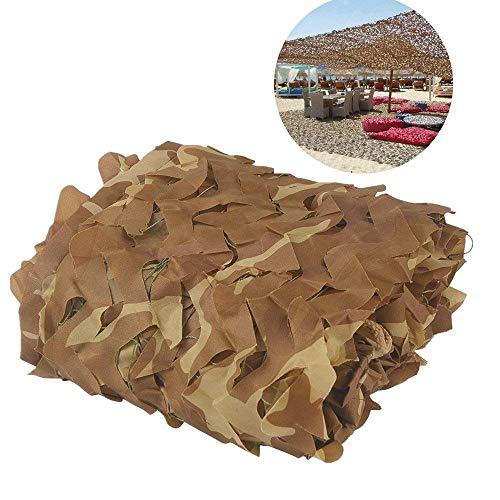 WNZP Tarnnetz - 2 Meter × 3 Meter Oxford Tuch Sandjagd Schießen Verstecktes Camping, Outdoor-Fotografie Dekoration, Themenparty Große Aktivitäten (Size : 4m×6m)