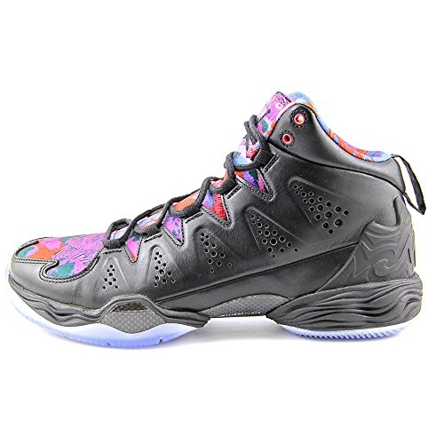 Nike Melo M10 Basketball-Schuh-Grö�e black black deep royal blue red volt 040