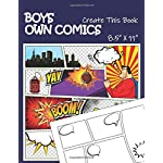 Boys Own Comics: Create This Book (create your own comic book)
