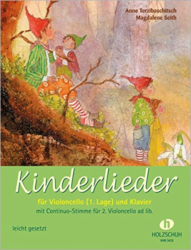 Kinderlieder für Violoncello (1. Lage) und Klavier