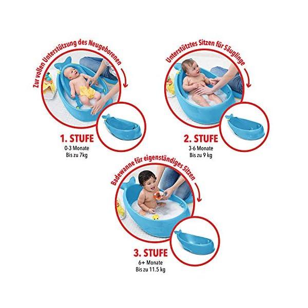 Skip Hop Moby Smart Sling 3-Stage Baby Bath Tub 3