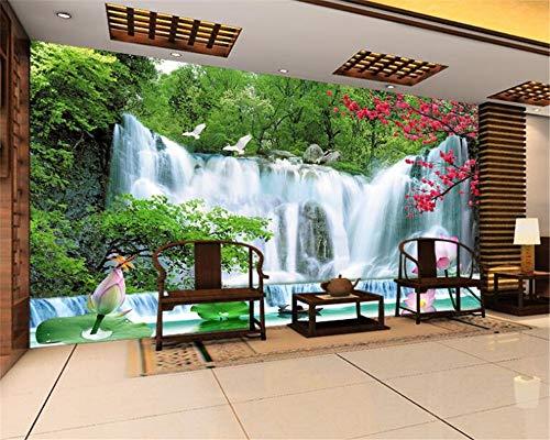 MuralXW 3D Wallpaper Alpine schönheit Hintergrund Wand Mode high-end Traum persönlichkeit Nahtlose Tuch tapete wandbild leinwand-400x280cm