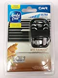 Ambi Pur Car Air Freshener Scent Disperser and Perfume Bottle - Anti-Tobacco, Cedarwood & Mint