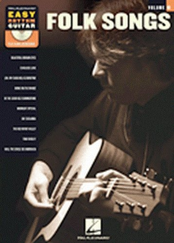 EASY RHYTHM GUITAR VOLUME 10: FOLK SONGS  PARTITURAS  CD PARA GUITARRA