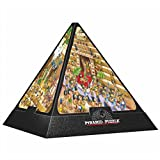 3D Pyramide - Ägypten : Cartoon / schwieriges Puzzle