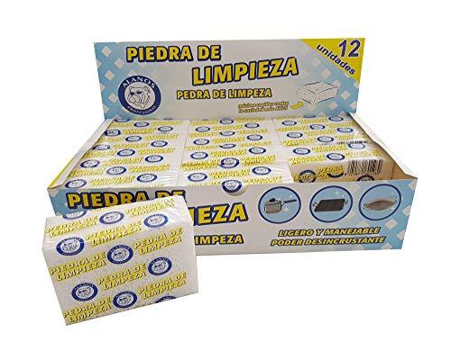 Alanos Profesional Piedras de Limpieza desincrustantes para planchas, sartenes y Utensilios de Cocina...