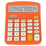 Taschenrechner, Helect Standard Function Tischrechner (Orange) - H1001A