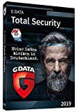 G DATA Total Security 2019 | 3 PCs Standard - 1 Jahr | Windows | Erstklassiger Rundumschutz durch Firewall & Antivirus | Trust in German Sicherheit | Aktivierungscode in Standardverpackung + DVD