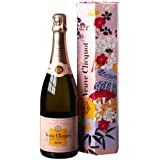 Veuve Clicquot Rosé Champagner Kimono mit Geschenkverpackung (1 x 0.75 l)