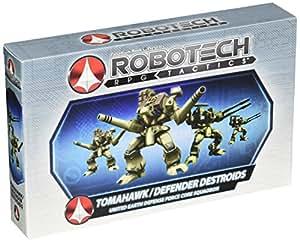 Robotech RPG Tactics: U.E.D.F. Destroid Pack