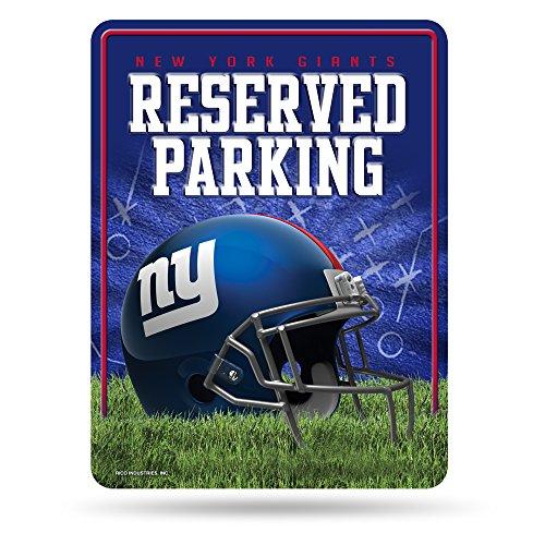 Unbekannt NFL Abonnements Metall Parken Schild, New York Giants, S