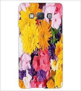 PrintDhaba Flowers D-2420 Back Case Cover for SAMSUNG GALAXY A5 (Multi-Coloured)