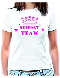 Camiseta de mujer para despedida de soltera con texto en inglés
