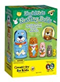 "Creativity For Kids - Set per creare matrioske ""Playful Pets Nesting Dolls"", motivo: animali"