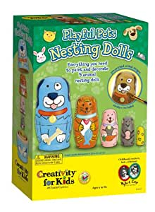 Creativity For Kids Creativity for Kids Kit Playful Pets Russian Dolls