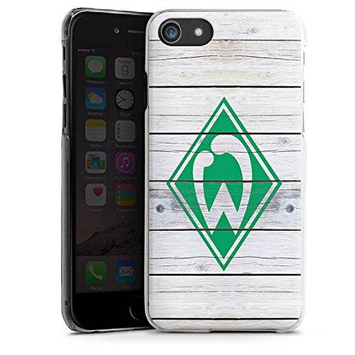 Apple iPhone 5s Silikon Hülle Case Schutzhülle Werder Bremen Holzplanken Fanartikel Hard Case transparent