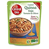Céréal Bio - Aceitunas Quinua Tomates 220G - Quinoa Tomates Olives 220G - Precio Por Unidad - Envío Rápido